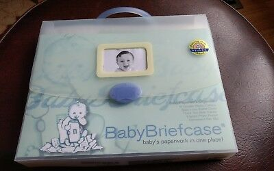 Baby Briefcase Organize paperwork in one place expandable file carrying case NEW