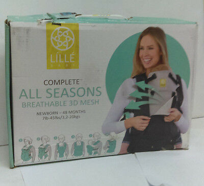 Lillebaby Complete All Seasons Breathable 3D Mesh Baby Child Carrier, Stone