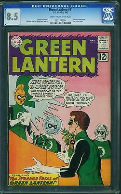 Green Lantern #11 CGC 8.5 CTOW Pages