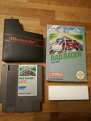 * Rad Racer * PAL B - NES - Nintendo Entertainment