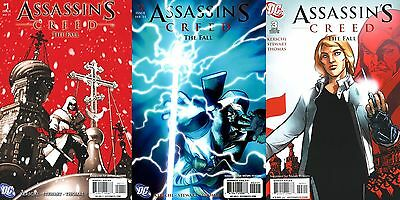 Assassin's Creed: The Fall #1 2 3 (Complete) Dc/ 2011/ Wildstorm