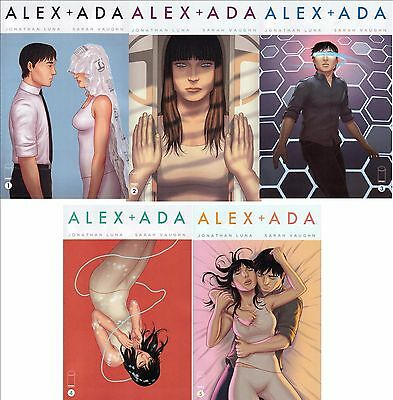 Alex + Ada #1 2 3 4 5 6 7 12 13 (2014) Vaughn/ Luna/ Image Lot