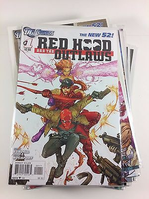 New 52 Red Hood and the Outlaws #1-23 + #0 + Annual Unbroken Run Comics NM