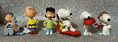 Peanuts Bullyland Bully Serie 6 Personaggi Set 6 Figures Out Of Production