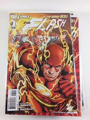 New 52 The Flash #1-17 + Variants and More Comics Unbroken Run NM