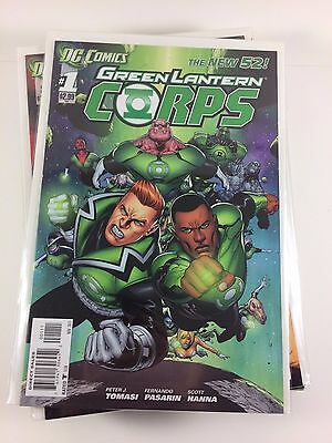 New 52 Green Lantern Corps #1-20 + Annual + #0 Complete Unbroken Run Comics NM