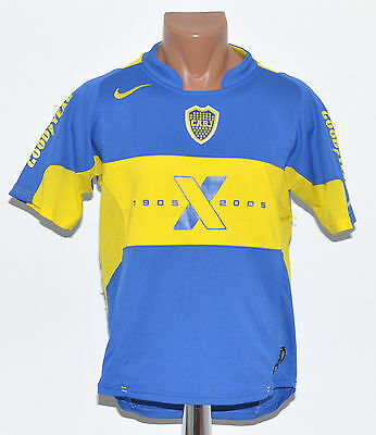 Boca Juniors Argentina 2005 Home Football Shirt Jersey Maglia Nike