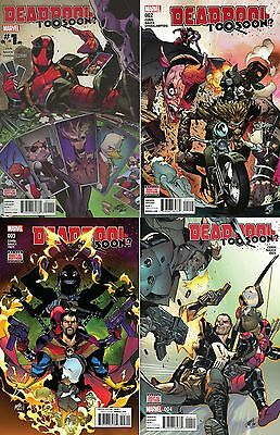 Deadpool: Too Soon #1 2 3 4 (Complete) Marvel/ Corin/ Nauck