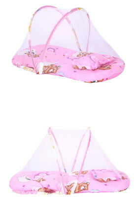 Portable Baby Infant Foldable Travel Bed Crib Canopy Mosquito Net Tent&Mattress