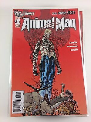 New 52 Animal Man #1-23 + Annuals + #0 Unbroken Run of Comics NM