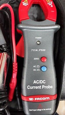 FACOM 711A.P500 CLIP-ON AMMETER AC/DC Current Probe AMP Clamp