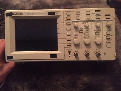 *Tektronix Tds-220 100Mhz Digital 2 Channel Oscilloscope With Expansion Board!*