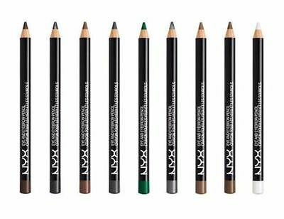 NYX Cosmetics Slim Eye & Eyebrow Pencil 0.04 oz, CHOOSE YOUR SHADE, New