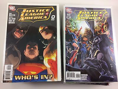 Justice League of America #1-60 + Extras JLA 2006 Complete Set Full Run NM