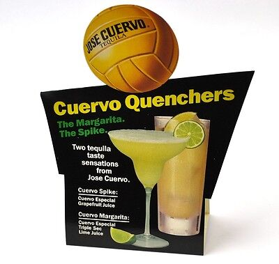 Vintage Jose Cuervo Especial Tequila USA - Tischaufsteller Volleyball