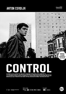 "Joy Division Ian Curtis CONTROL Movie Poster from Czech Republic NICE 12"" x 17"""