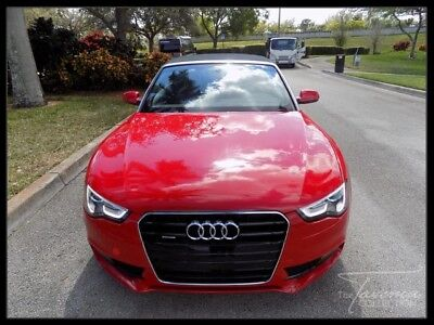 2014 Audi A5  2014 A5 PREMIUM PLUS CONVERTIBLE NAVIGATION REAR VIEW CAM KEYLESS START XENON FL