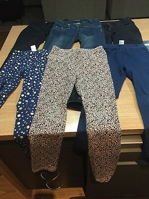 Girls Size 7 Jeans And Leggings