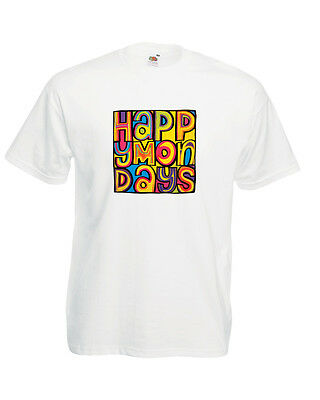 Happy Mondays T Shirt Shaun Ryder Mark Bez Berry Black Grape Madchester Hacienda