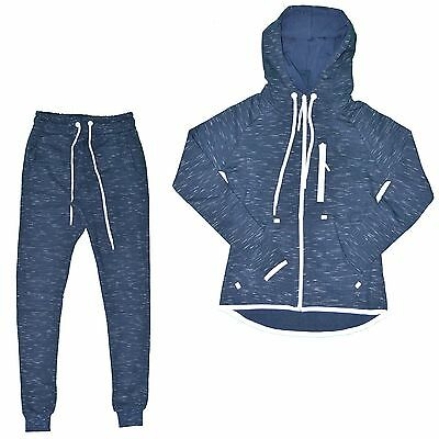 Closeout - Set Full / Complete Jogging - Woman - Set Streaked 01 - Navy New