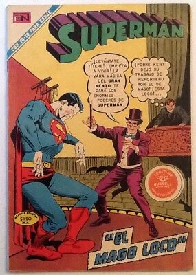Superman #798 FN- 5.5  1971  Color  Mexico  Spanish Lang  Very Rare