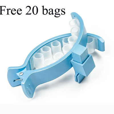 New Piqapoo Holder Clip Bag with Free 20 Pcs Waste Bag bags For puppy dogs