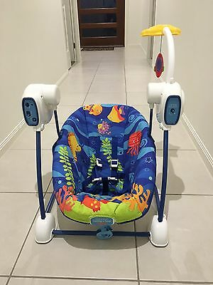 Fisher Price SpaceSaver Swing/Seat