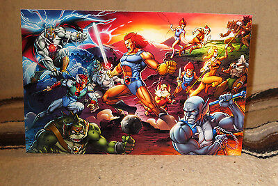 """Thundercats"" Animated Movie Tabletop Display Standee 11 X 7"""