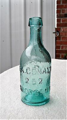 """"""" F.A. CONANT/ 252 / GIROD ST. N.O. """" A New Orleans Mineral Water / Soda Bottle"""