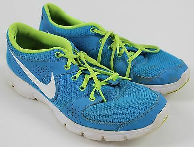 Nike Flex Experience Lightweight Blue Mesh Athletic Running Shoes WOMENS Sz 12