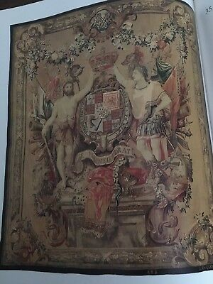 Book Set European Post Medieval Tapestries Gorgeous Pictures