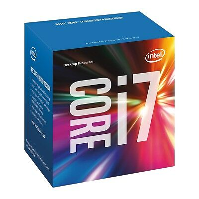 Intel 7th Gen Core i7 7700 3.6GHz (Max 4.2GHz) Desktop LGA1151 CPU Processor