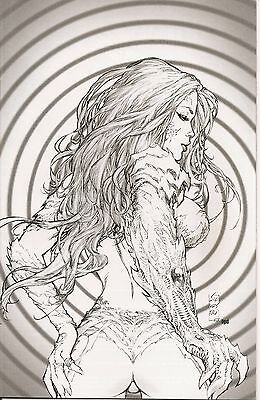 Witchblade # 118 SDCC Fantastic Realm Sketch