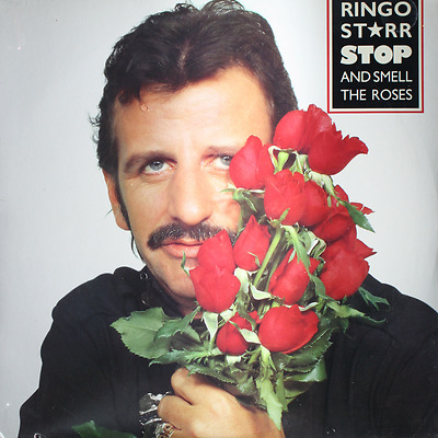 RINGO STARR Stop and Smell The Roses - NEW SEALED 1981 LP Record Boardwalk 33246