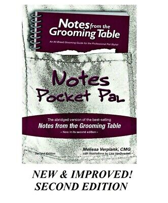 Notes from the Grooming Table Pocket Pal-Groomer QuickReference Book*2nd Edition