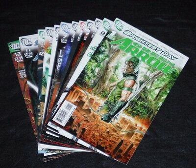 Green Arrow (2010) # 1-12; Brightest Day series