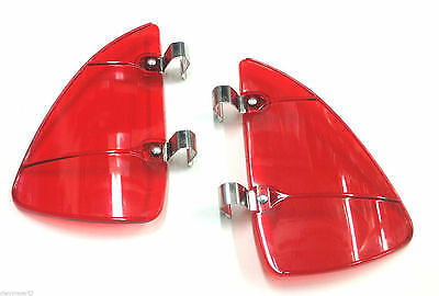 1950's Chevy Dodge Plymouth Vent Window  Breezies Red