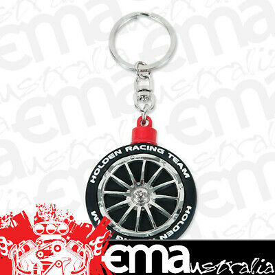 Genuine Holden Racing Team (HSV) Spinning Tyre/Wheel Keyring HRT15022