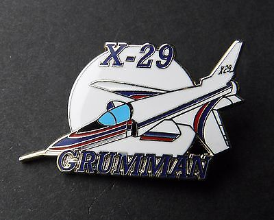Grumman X-29 Nasa Experimental Forward Wing Test Aircraft Lapel Pin Badge 1.5 ""