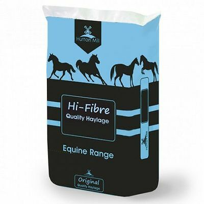 Hutton Mill Hi-Fibre Pre-Packed Haylage For Horses - 20kg