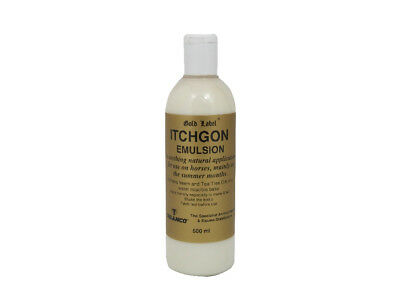 Gold Label Itchgon Emulsion - 500ml - Fly, Louse & Insect Control