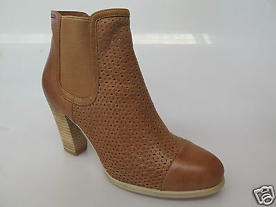 Django & Juliette - new ladies leather ankle boot size 37 #162 *CLEARANCE*