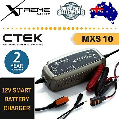 CTEK Smart Car Battery Charger 12V 10Amp MXS10 Car Boat Charger Fully Automatic