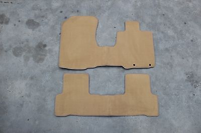 Honda CRV (2007-2012) Beige Custom Car Mats - CLEARANCE -  Full Set CL514