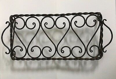 Vintage Iron Raised Hot Plate Stand