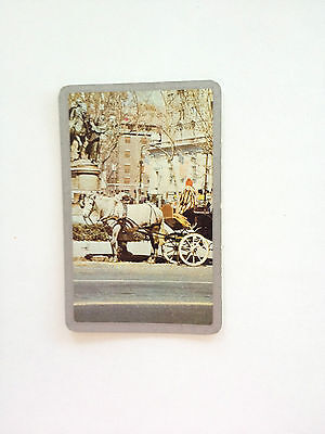 Swap Card - Horse And Carriage - Vintage / Retro