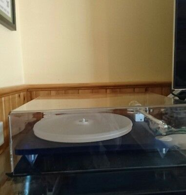Clearaudio emoition turntable blue