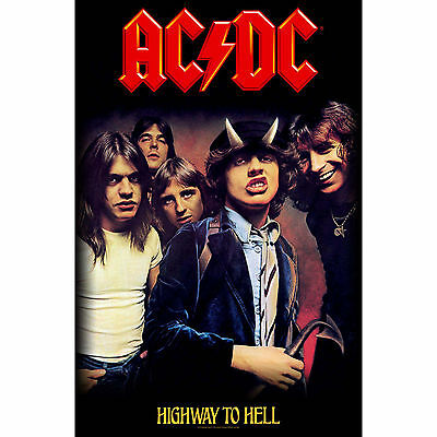 AC/DC Highway to Hell Textile Poster Flag