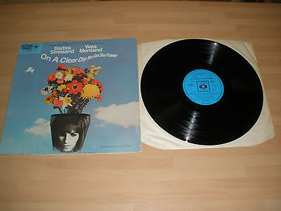 """On A Clear Day You Can See Forever Ost 12"""" Vinyl Album Barbra Streisand 1970 Ex"""""""