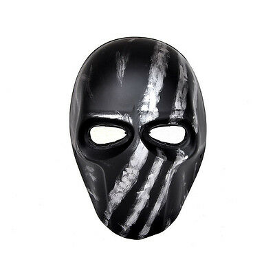Paintball CS Airsoft Full Face PC Lens Eye Protection Skull Mask PROP L7833